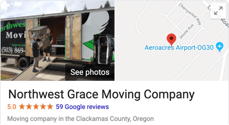 Northwest Grace 5 Star Moving Company